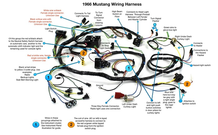 ls wiring swap harness for automobile or truck engine