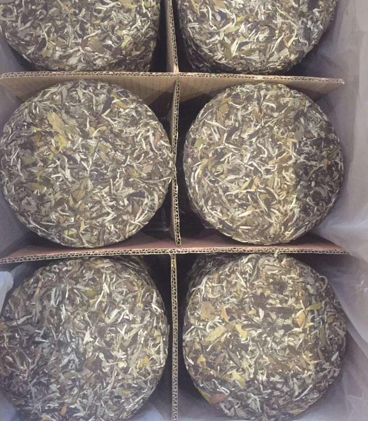 Chinese Fuding White Teabread Pai Mu Dan White Peony Loose Tea Custom Packing - 4uTea   4uTea.com