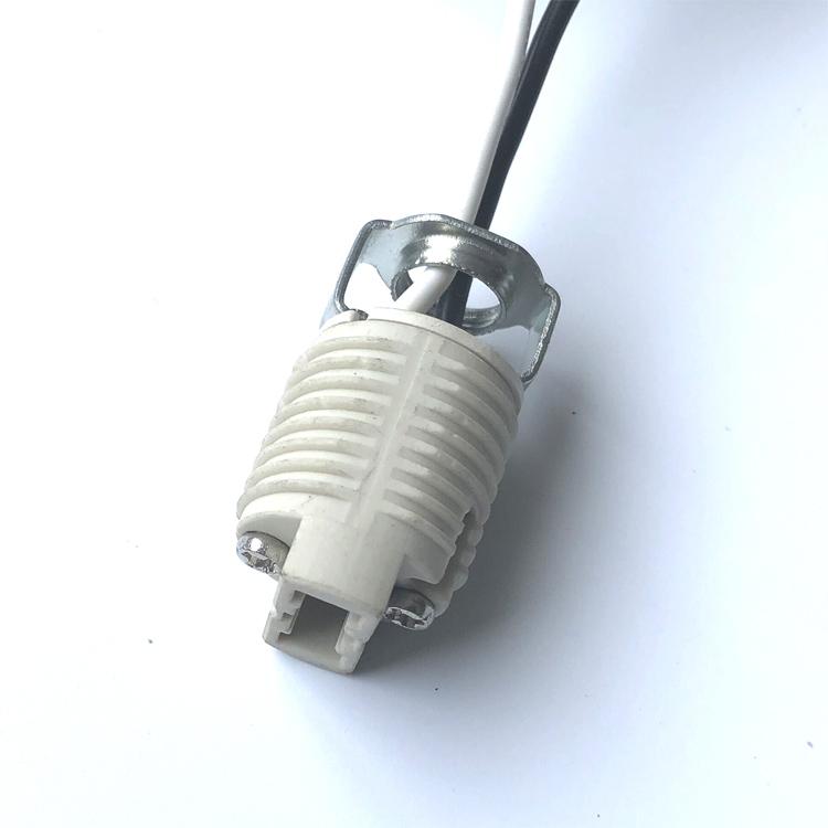 G9 bulb lamp holder ceramic socket lamp bases for LED bulb