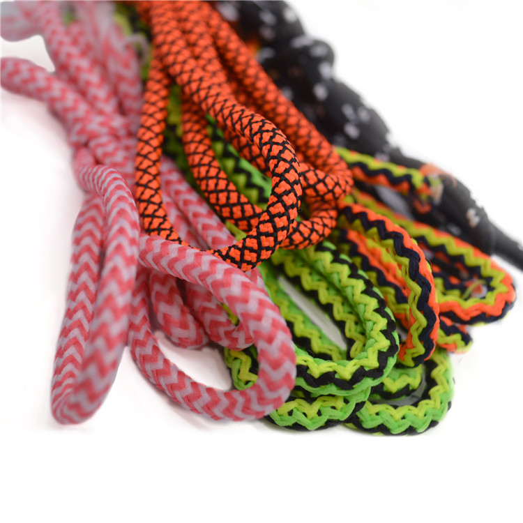 High Quality  Custom color round  Drawstring cord hoodie braided  cord For Garment