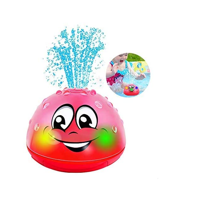BO Spray Water Squirt Bath Toy LED light up Float Bathtub Shower Pool for baby Toddlers kids boys girls waterproof bath toys