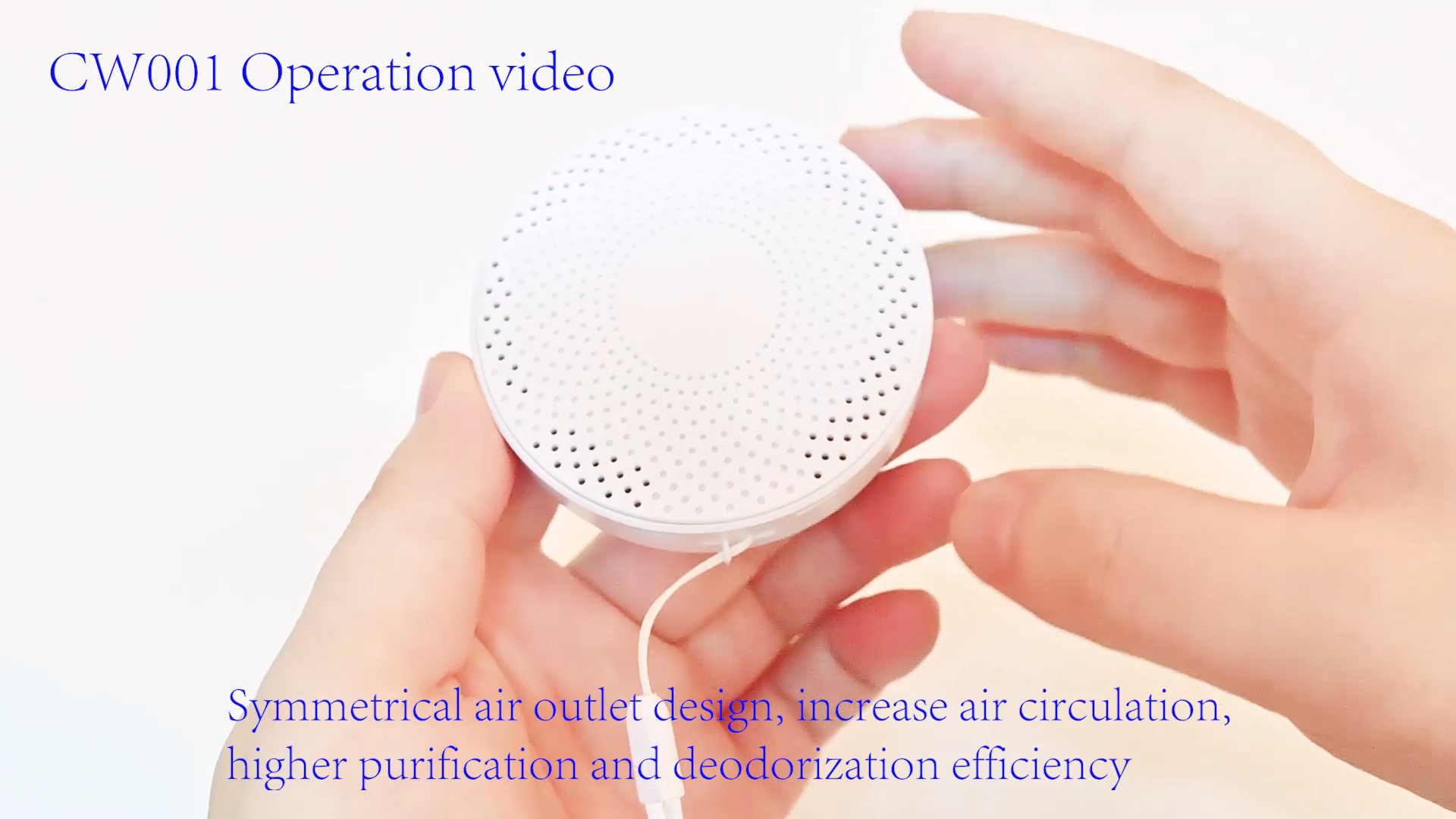 Mini Ozon Generator Deodorizer Luchtreiniger, USB Oplaadbare Koelkast Purifier