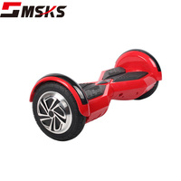 CE factory wholesale 8inch electric scooter board with LED lights and bluetooth hover board