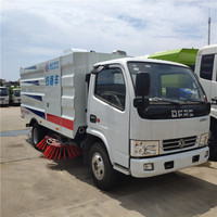 5000 liters vacuum road sweeper truck 5CBM road sweeping vehicle for sale
