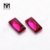 Synthetic corundum Baguette Cut 5# Ruby Red 8x10mm loose stones