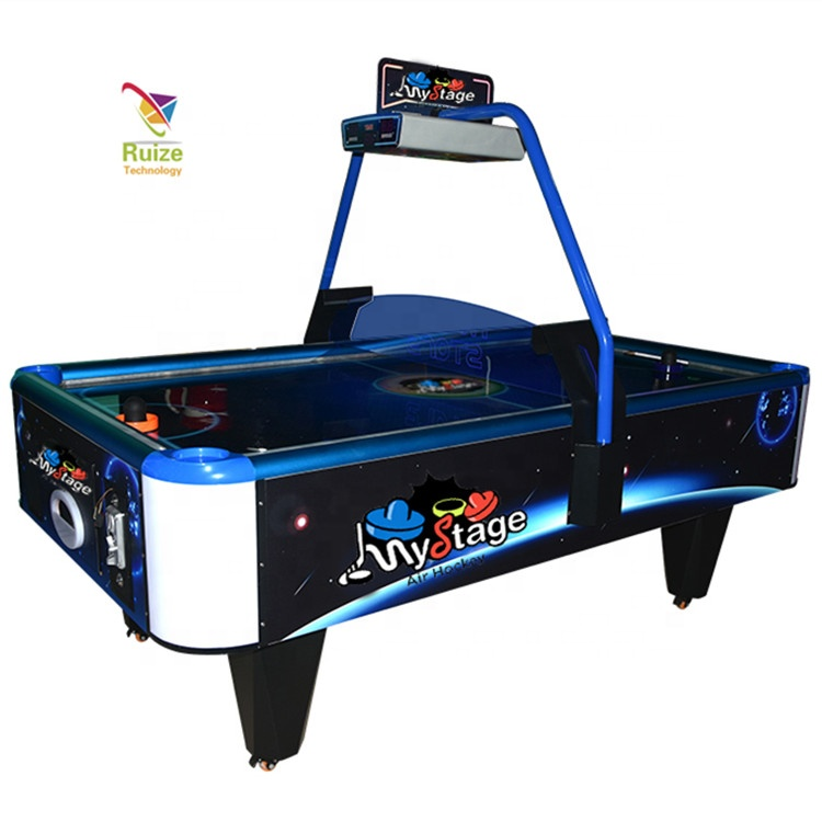 Biljart air hockey en tafeltennis, classic sport air hockey tafel voor game park game center