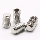 Hexagon Socket Set Screws Stainless Steel Hexagon Socket Set Screws With Flat Point DIN913
