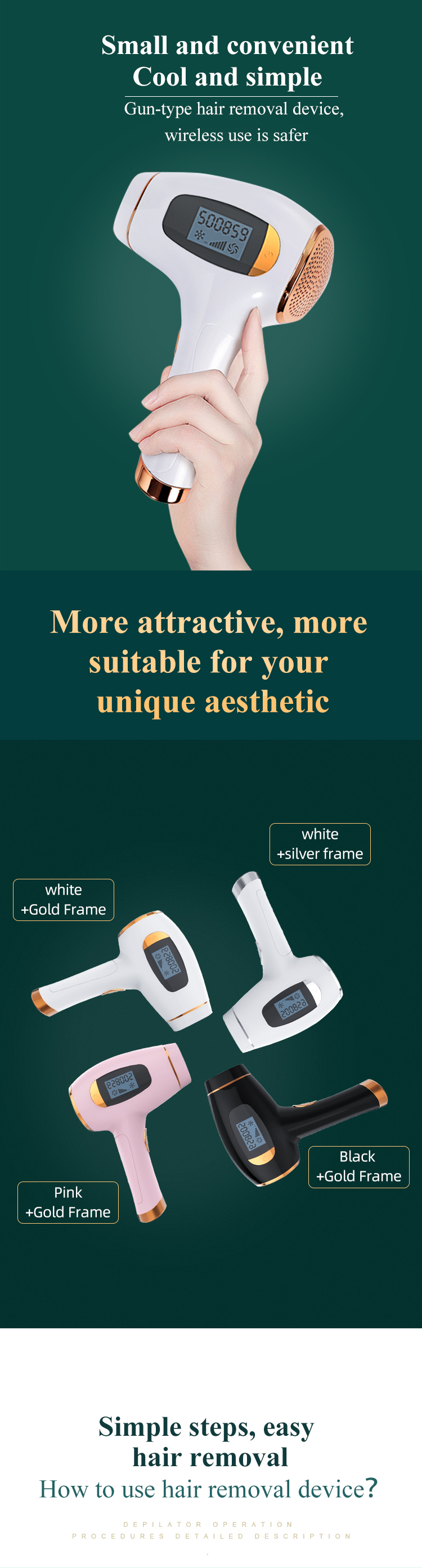 2020 Newest Good Quality Super Fast Light Laser 808 Hair Removing Permanently Ipl Hair Removal Systems Ice Cooling Hair Removal