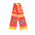 Wholesale factory custom knitted jacquard soccer Club fan scarf football scarf