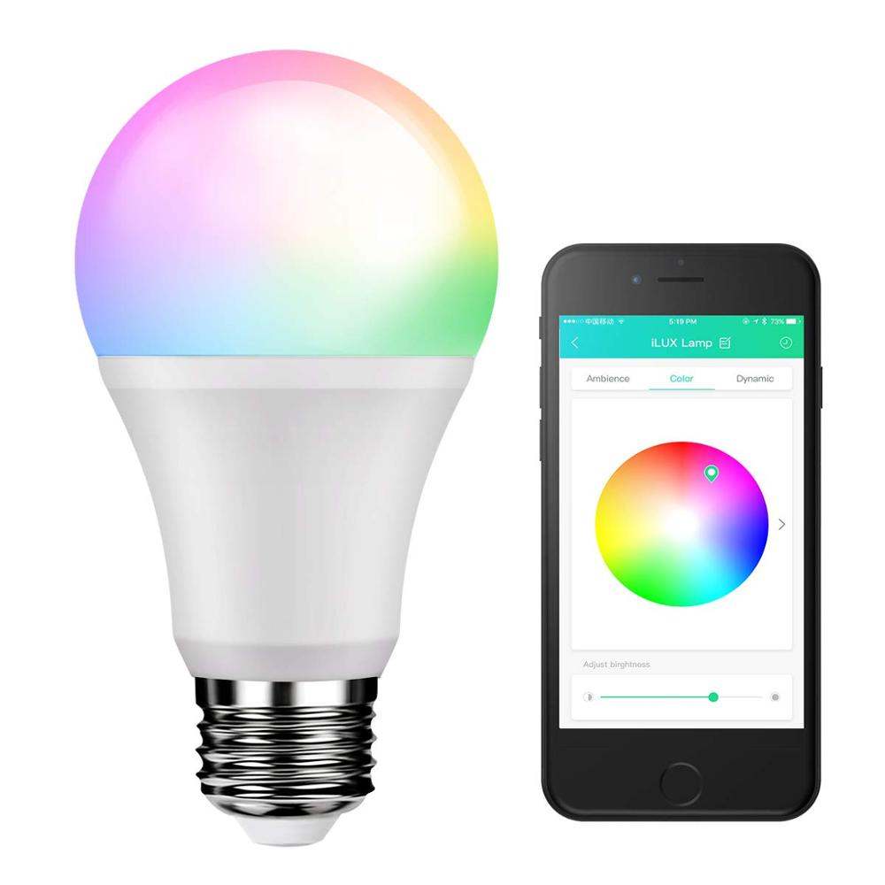 블루투스 LED 스마트 전구 E27 와이파이 무선 제어 Google 블루투스 와이파이 LED 스마트 전구 7 W 9W 11W