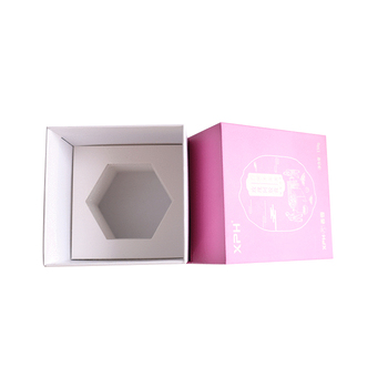 Cardboard Wax Coated Vintage Velvet Favor Wedding Packaging Box