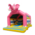 Elephant Theme Moonwalk Bounce House Commercial Kids Jumping Inflatable Elephant Bouncer Pink Bouncy Castle For Sale