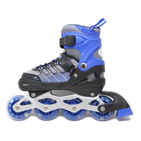 Professional adult kids women 4 wheels inline quad roller skate shoes