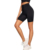 Women High Waist Sports Short Workout Running Leggings Female Yoga Shorts With Side Pocket