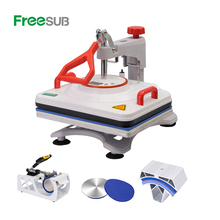 Freesub 5 In 1 Combo Warmte Persmachine <span class=keywords><strong>T-shirt</strong></span> <span class=keywords><strong>Drukmachine</strong></span> Mok Sublimatie Machine P8200