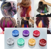 Natural hair styling color pomades new hair products hot selling