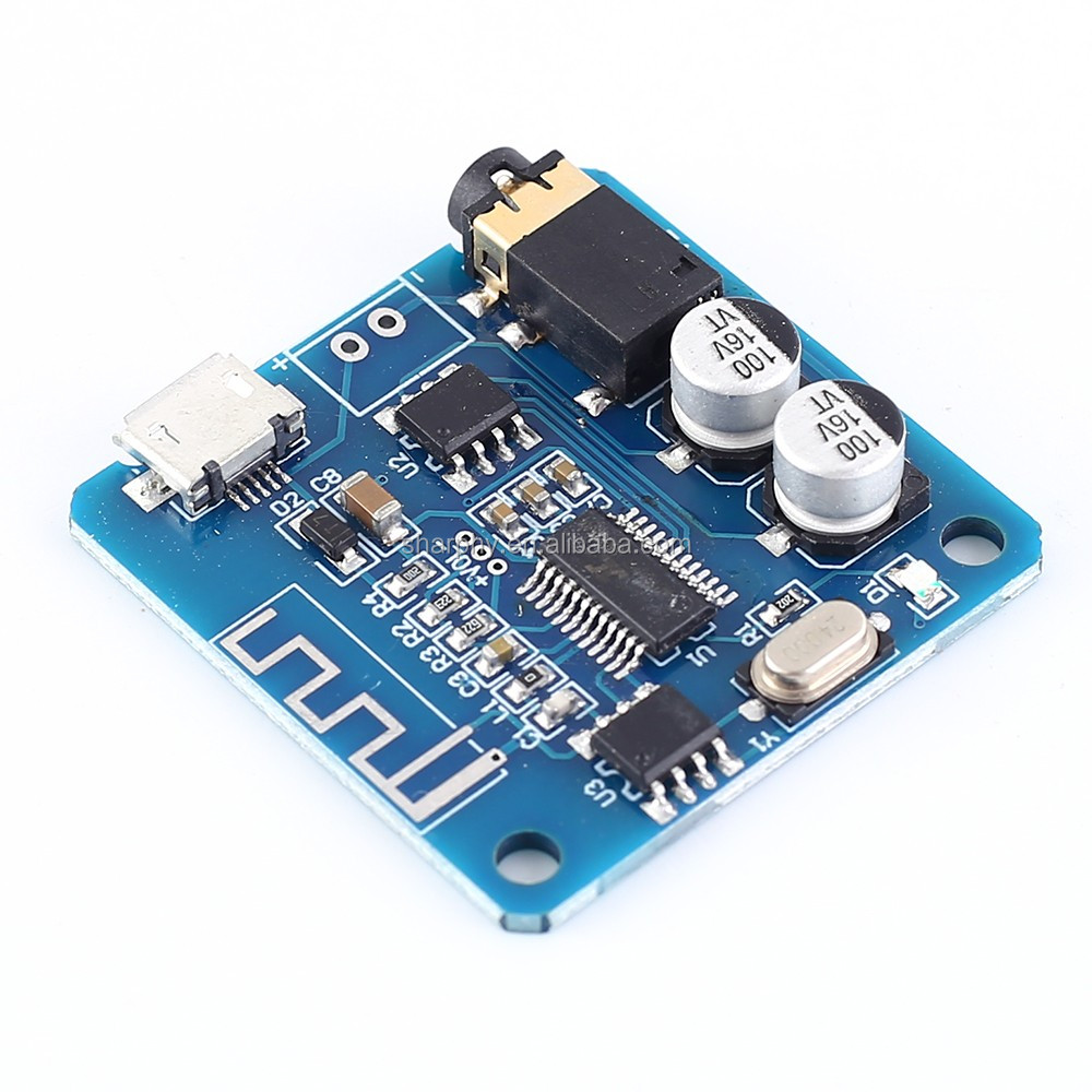 Placa De Amplificador de Potência Digital Receptor Bluetooth Sem Fio Módulo de Voz de Áudio Lossless V5.0 Decodificador Bordo