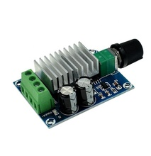 Taidacent 20A PWM Kecepatan Switch 24 V Mobilitas Scooter Servo Motor Controller PCB Fan Regulator Potensiometer