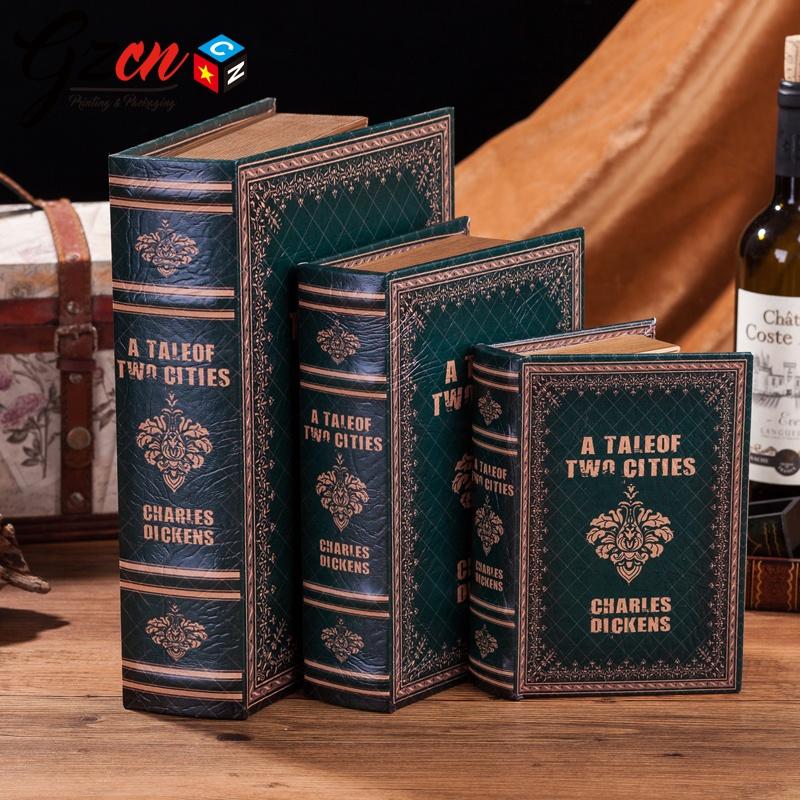 Wholesale custom print english french luxury decorate book