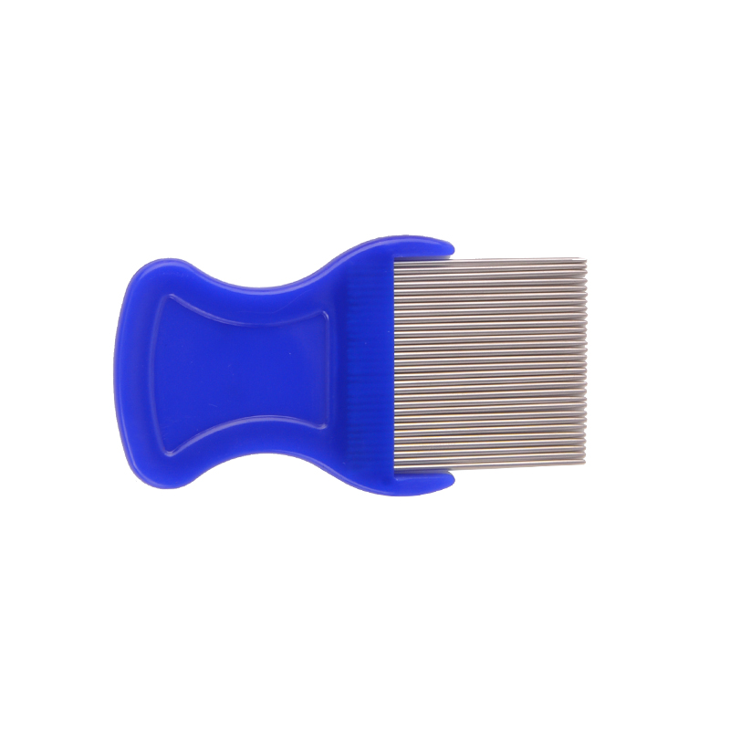 Dongguan Cheap Anti Pet Dog Stainless Steel Metal Head Flea Comb  Lice Comb
