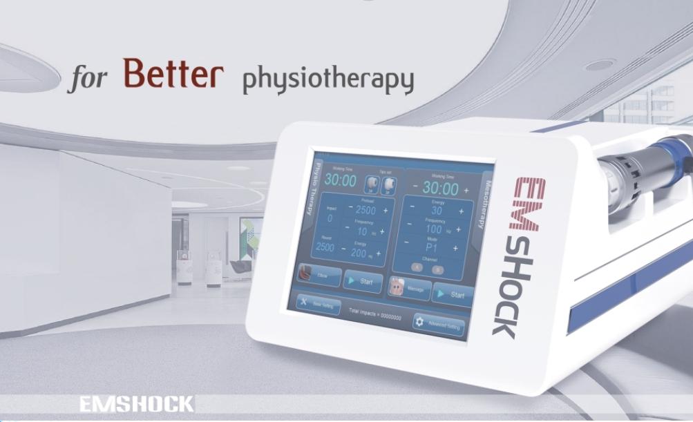 2 IN 1 erectile dysfunction ED shock wave device/Shockwave EMS treatment slimming machine