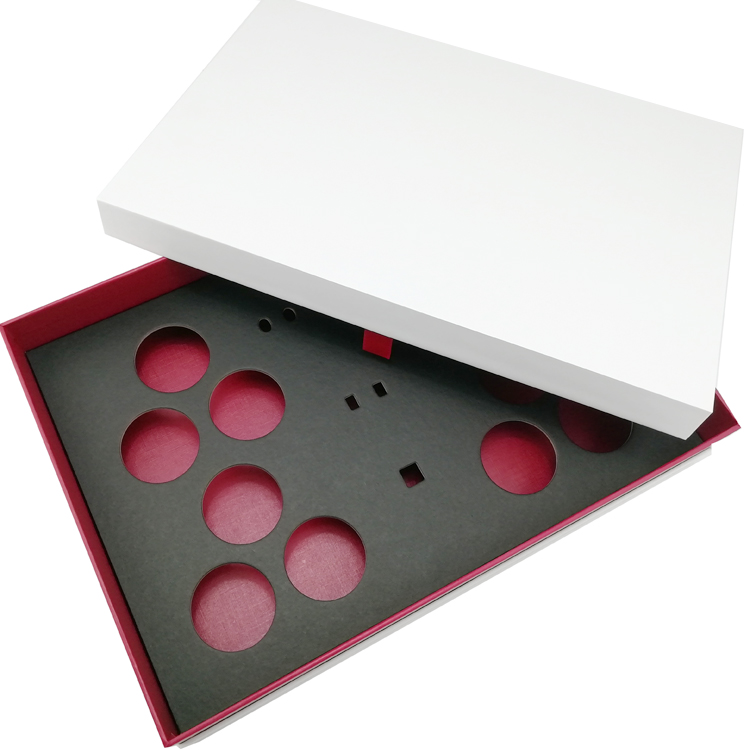 kraft paper insert black paper box custom golf ball packaging rigid gift box,golf ball packaging box