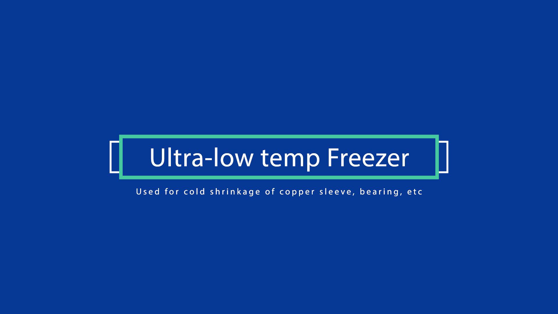 Cinese fornitore industriale congelatore petto tipo di-65 gradi a-10 gradi automotive