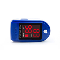 Blood Oxygen Saturation Monitor Fingertip Pulse Oximeter with LED display,hand held pulse oximeter