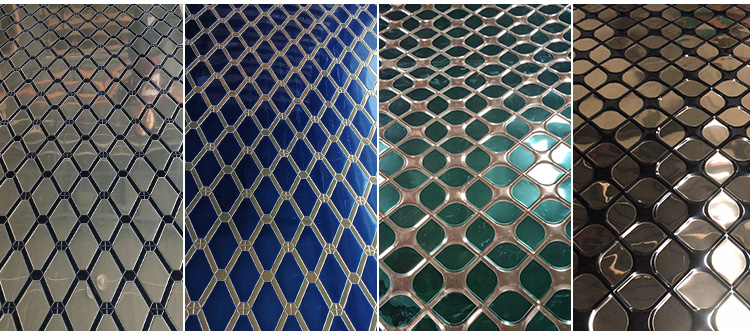 PVD Double Color Coated Decorative Stainless Steel Sheet And Plate