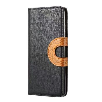 Cheap Price Flip Wallet PU Mobile Phone Accessories For iPhone, Luxury Leather Case For Samsung Custom