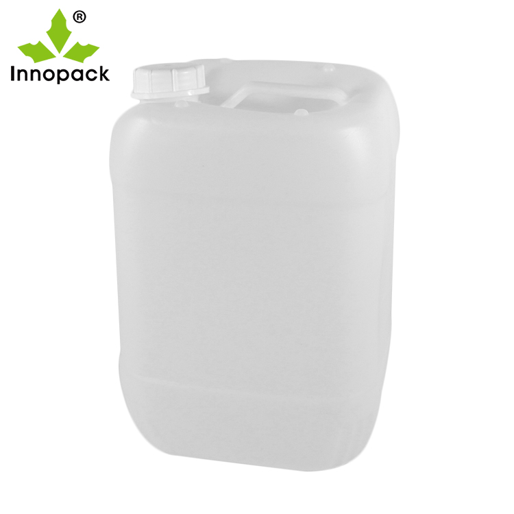 Forte virgin HDPE di plastica impilabile 20 litro jerry can con coperchio