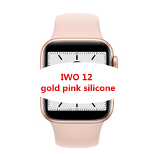 IWO 12 <span class=keywords><strong>montre</strong></span> intelligente <span class=keywords><strong>Bluetooth</strong></span> 1:1 série 5 Inteligente Brinde Pulseira 40MM 44MM SmartWatch pour IOS Android mise à niveau IWO 11 10 8 6