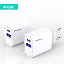 QIHANG OEM Super Fast Wall Adapter Type-C QC 3.0 18 W PD Charger USB Type C ADAPTER