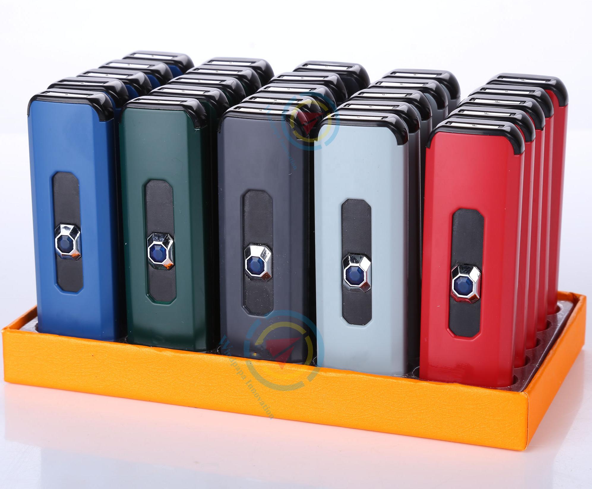 AL20 Cheap cigarette_lighter Flameless Plastic USB Charging Coil Lighters disposable