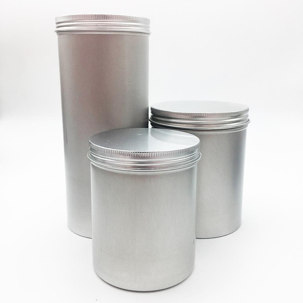 500ml 750ml 1000ml aluminum tin for cookie tin AJ-163C
