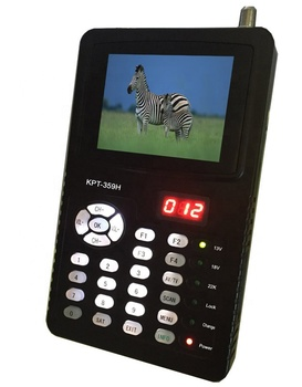 DIHAO 3.5 inch full hd mpeg-4 sat track satellite finder signal meter with display hd pictures