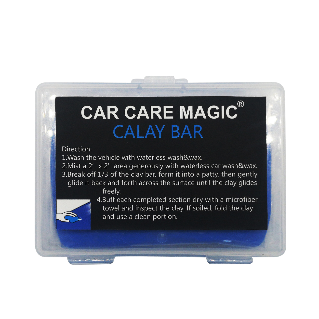 Car Care Magic car cleaner kit waterless wash & wax spray dry cleaner with private label