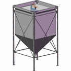 10 ton fabric silo for grain storage