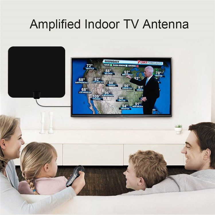 Heißer Design 335*235*0,8mm Satellite Pendoo Indoor/Outdoor Verstärker Hdtv Tv Antenne Digital