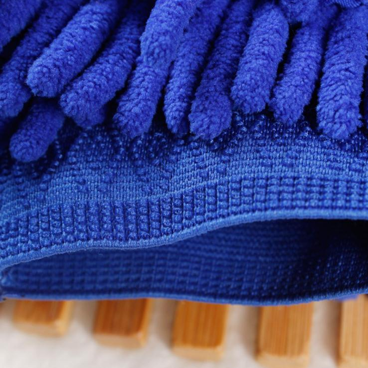 Microfibre Car Washing Detailing Product Lint Free Knitted Mitt
