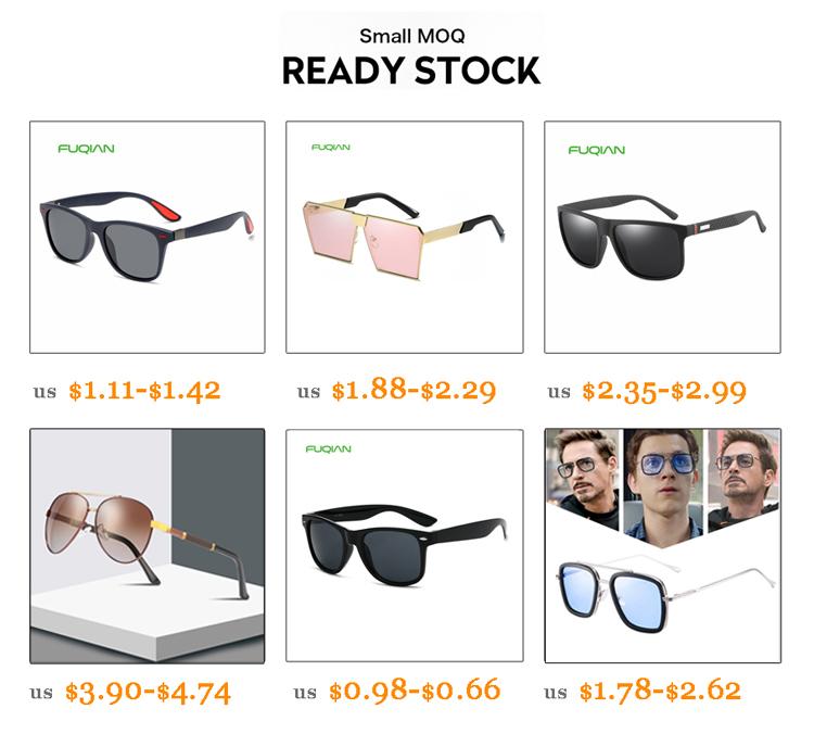 Fuqian female designer sunglasses factory for racing-3