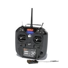 OEM Obm ODM Wfly Transmitter Receiver 2.4G RC Helikopter dengan LCD Transmitter