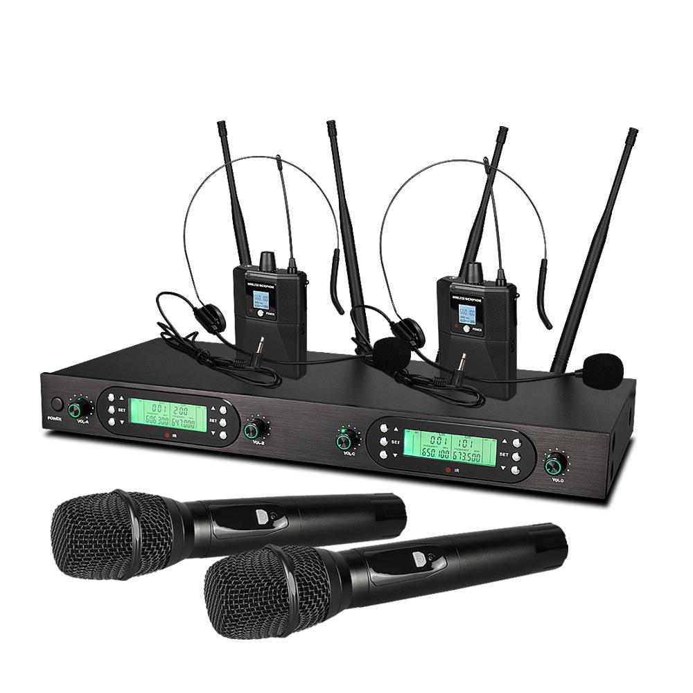 Kinerja Sistem CE Profesional Mikrofon Headset untuk Tahap