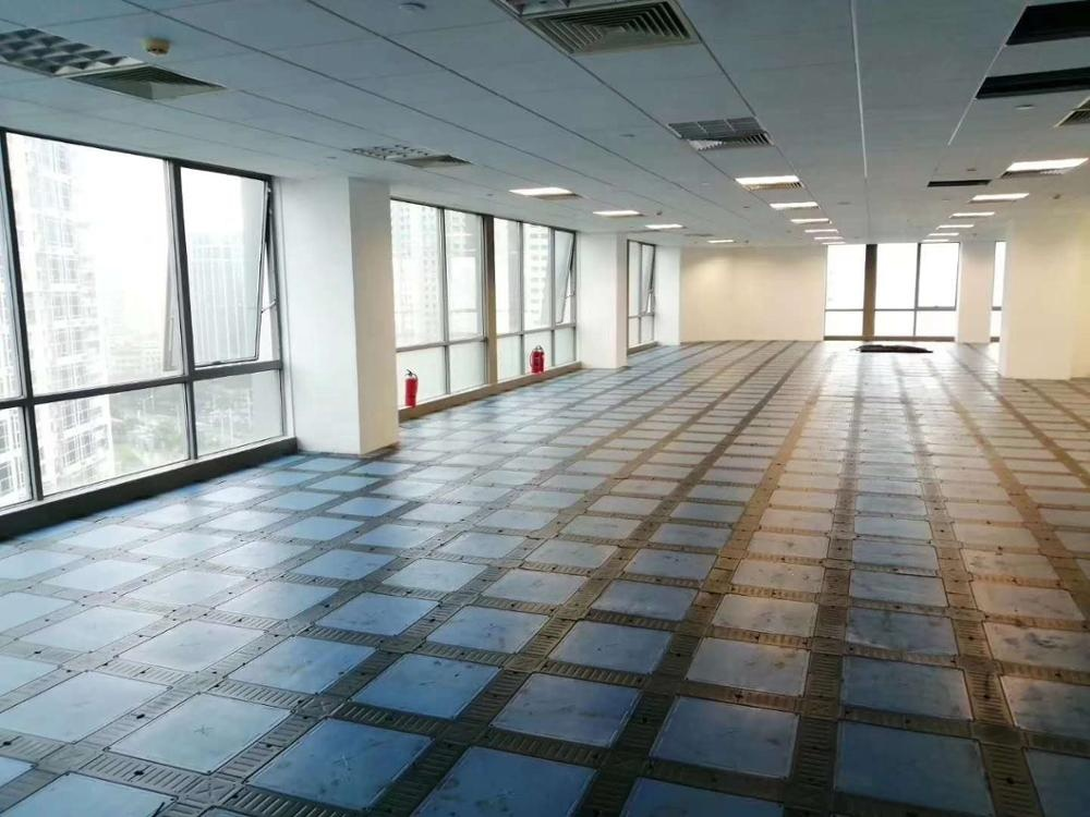 OA type Steel Cementitious Raised net Flooring with cable tray for server room