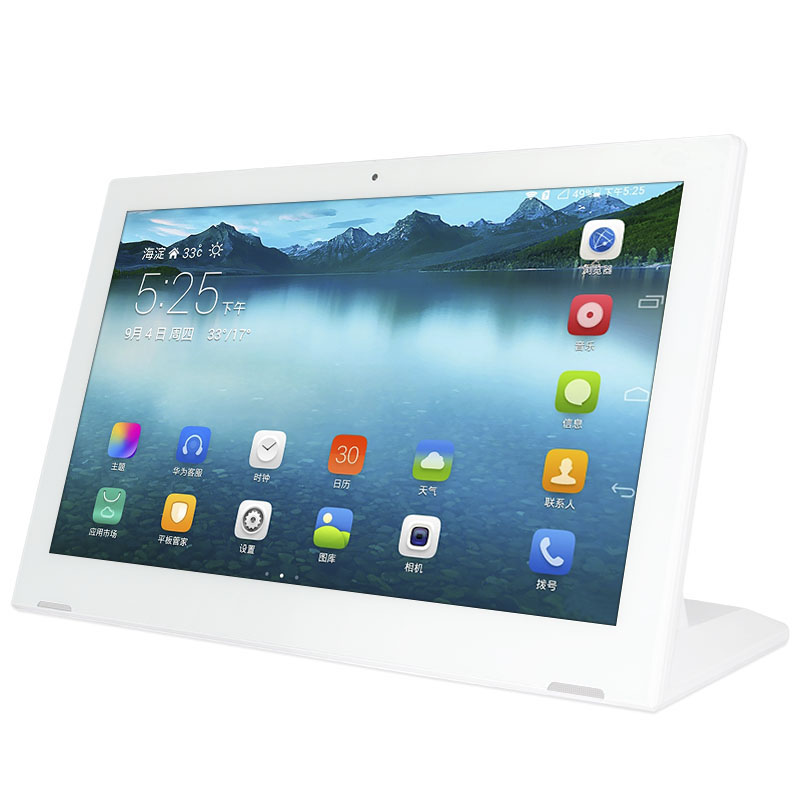 L shape 13.3 15.6 15 inch IPS 2+16g wifi android 8.1 nfc tablet aio