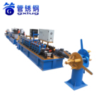 Industrial Square Stainless Steel Pipe Welding Machine/Round Tube Equipment