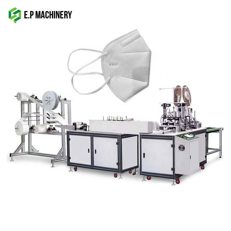 model N95 3-layer protective ventilation mask machine