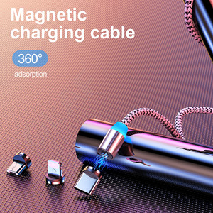 Magnetic Charger Micro USB Cable Magnet Charge Cord For Samsung S7 Redmi Note 5 Magnetic Cables Micro USB Charging Wire