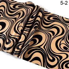 Роскошная черная и белая золотая металлическая настенная бумага для стен, металлическая рулонная Серебристая настенная бумага, Геометриче...(Китай)