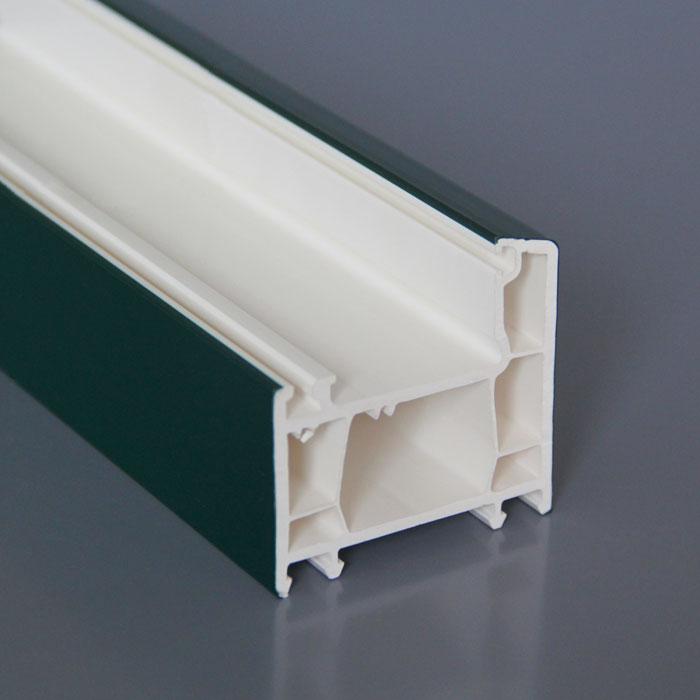 Henan beidi windows doors ASA color upvc profile